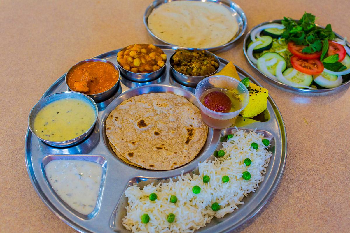 Punjabi-Thali